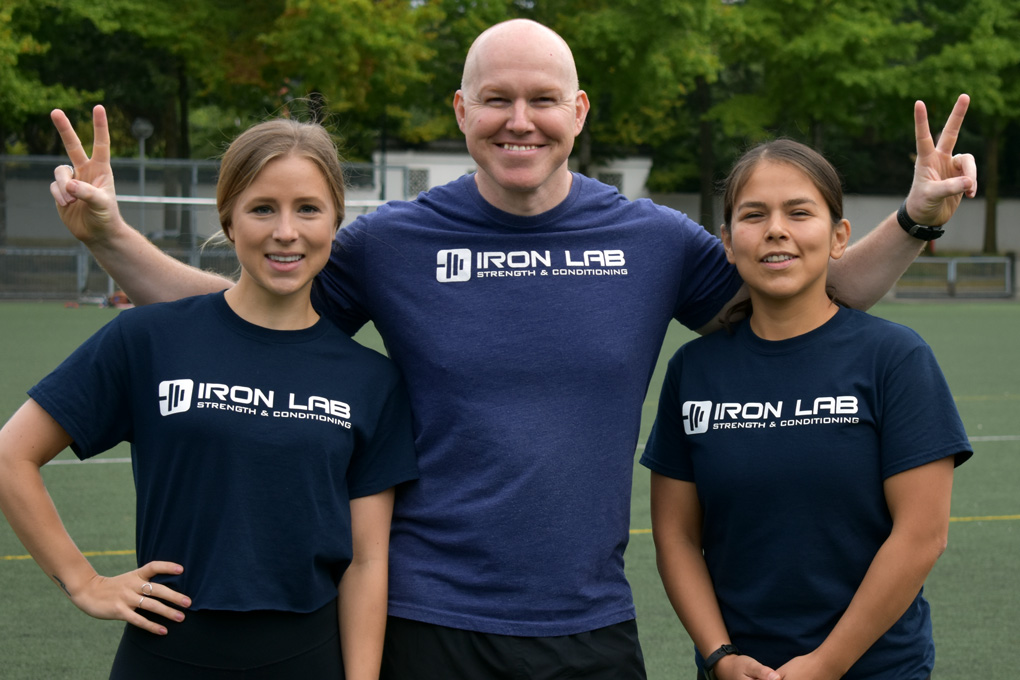 iron lab coaching team