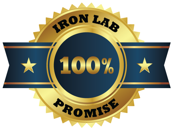 iron lab promise guarantee results