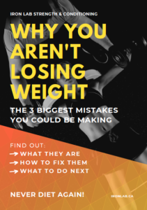 why you aren't losing weight