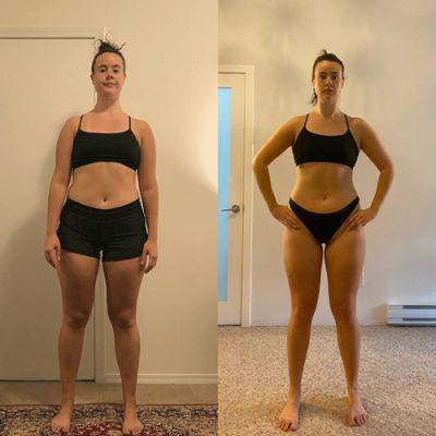 iron lab client fitness results