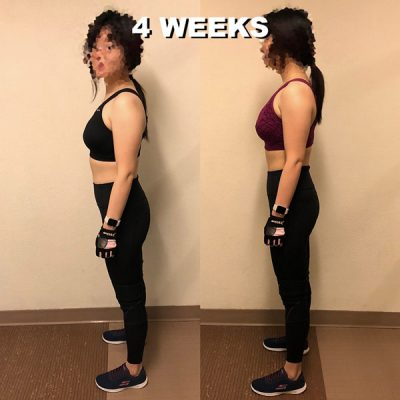 lean body achieve before and after